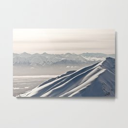 Talkeetna Mountains Metal Print