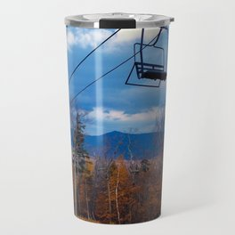 Fall Colors on Sugarloaf Mountain in Maine Travel Mug