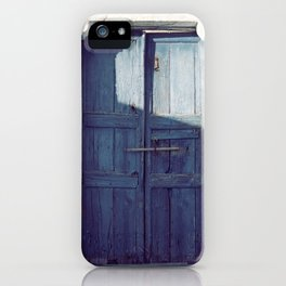 Santorini Door I iPhone Case