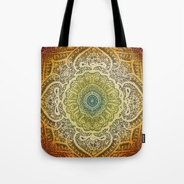 Bohemian Lace Tote Bag