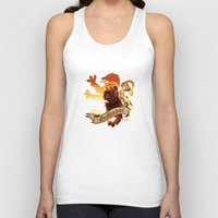 gryffindor Tank Tops featuring Gryffindor by Markusian