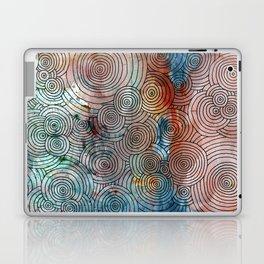 Circles, Water, & Color Drawing Meditation Laptop & iPad Skin
