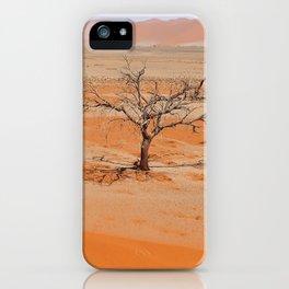 NAMIBIA ... Namib Desert Tree V iPhone Case
