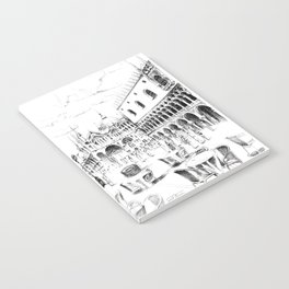 Sketch of San Marco Square in Venice Notebook