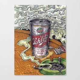 Schlitz  Dive Bar  Canvas Print