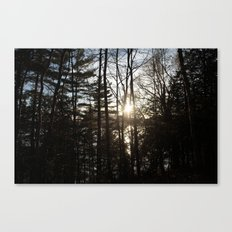between Canvas Print