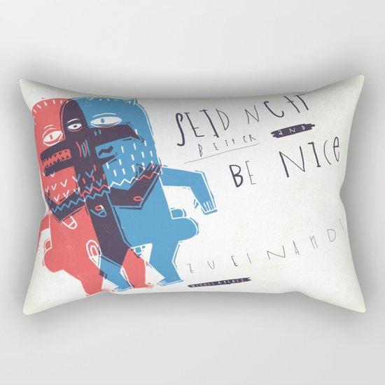 Zeter & Mordio Rectangular Pillow
