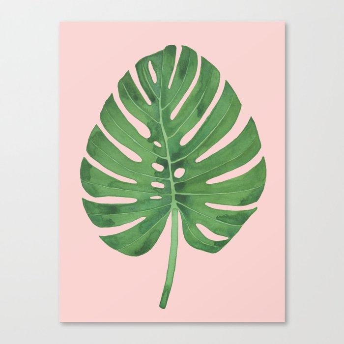SWISS CHEESE PLANT 03, by Frank-Joseph Leinwanddruck