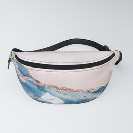 storm whipped sea Fanny Pack