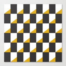 Retro Pattern - New York Canvas Print