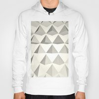 pyramid Hoodies featuring Pyramid by Lauren Miller