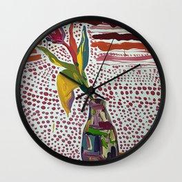 Tulip mania Wall Clock