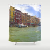 venice Shower Curtains featuring Venice by NatalieBoBatalie