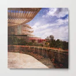 Terraced Architecture Metal Print