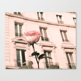 Paris in Blush Pink II Canvas Print