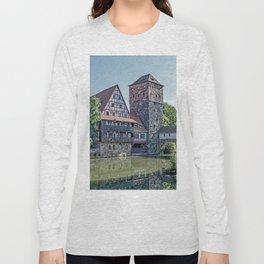 Romantic Nuremberg, -Franken-Bavaria-Germany Long Sleeve T-shirt