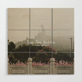 Hong Kong Tian Tan Buddha Wood Wall Art