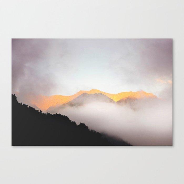 Hidden Treasure Mountain Canvas Print
