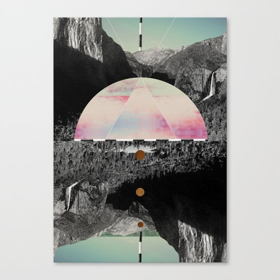 Candy Floss Skies Canvas Print