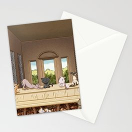 The Cats' Supper Stationery Cards