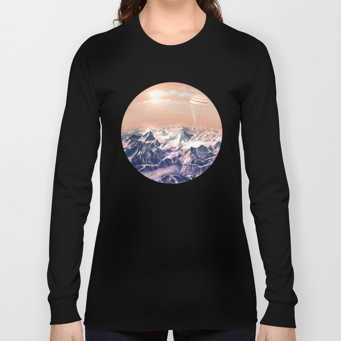 Astronaut Returns II Long Sleeve T-shirt
