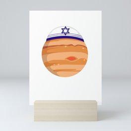 Jewpiter Spiritual Leader And Jew Gift Mini Art Print