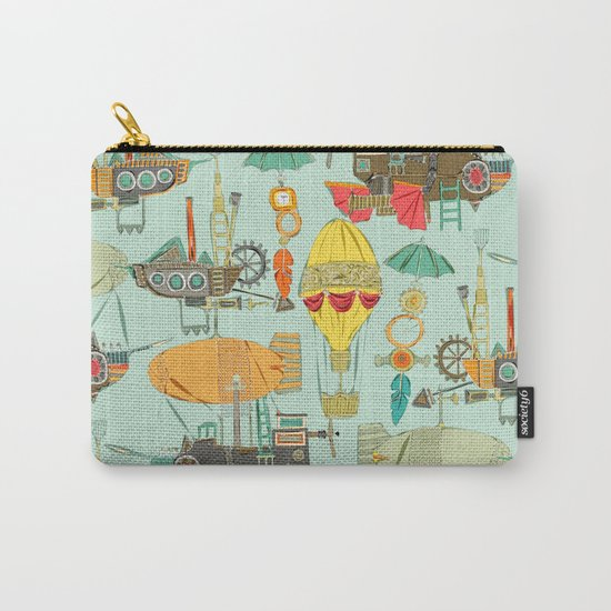 steampunk sky Carry-All Pouch