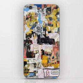 Basquiat World iPhone Skin