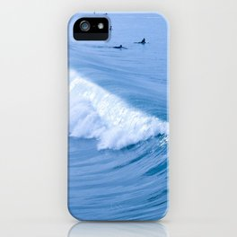 Waiting for the Perfect Wave iPhone Case