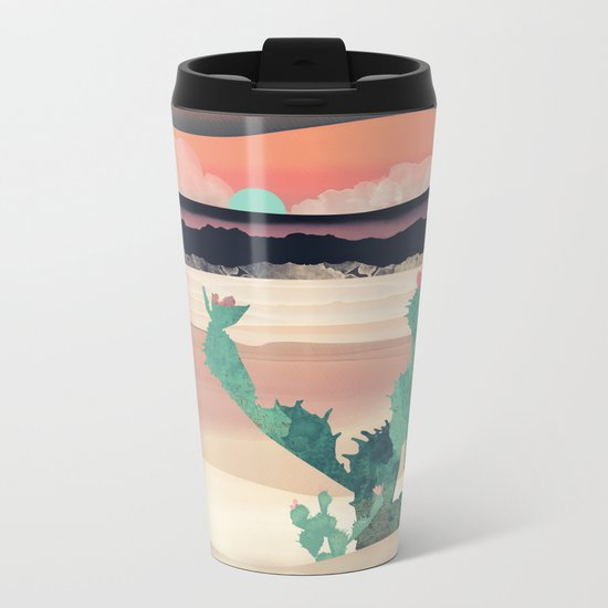 Desert Dawn Metal Travel Mug
