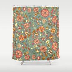 Mandarinas Shower Curtain