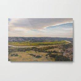 Badlands, Theodore Roosevelt NP, ND 10 Metal Print