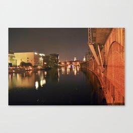 PEACEFUl NIGHT - BERLIN Canvas Print