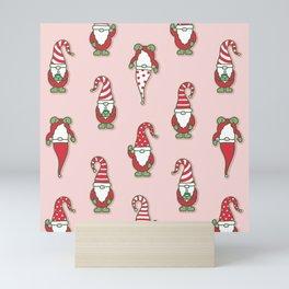 North Pole Gnomes Mini Art Print