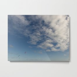 Melbourne Sky FLY 09/09/2017 10:31:31 38.36/144.89 Metal Print