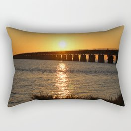 7 Mile Bridge Rectangular Pillow