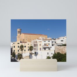 Santa Maria in Mahon - Minorca Mini Art Print