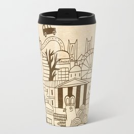 London UK Travel Mug