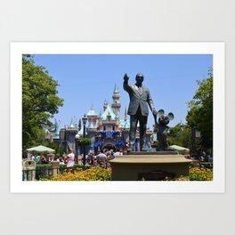 Disneyland Art Print