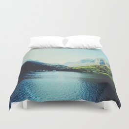 Mountains XII Duvet Cover