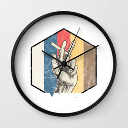 I'd Rather Smoke Awesome Funny Smoker Wall Clock