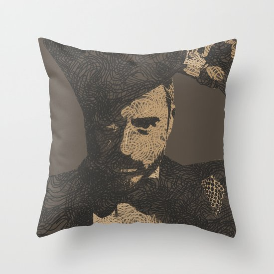 Mystery Unraveled  Throw Pillow