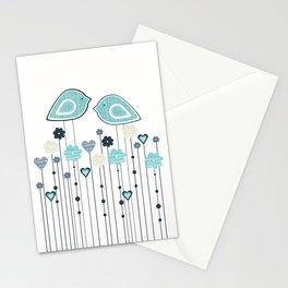 I heart birdies Stationery Cards