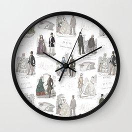 Biedermeier Romance Wall Clock