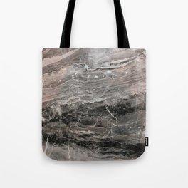 Smokey gray marble Tote Bag