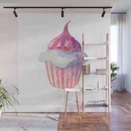 Watercolor Eat Me Wall Mural