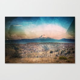 Desert Mountain Adventure - Nature Photography Canvas Print