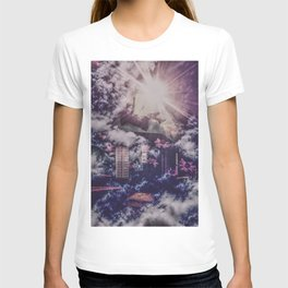 Falling Into The Uncertain Void T-shirt