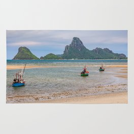 Three Boats Thailand Rug