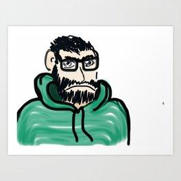 This is Josh Art Print